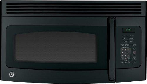 GE JVM3150DFBB 1.5 Cu. Ft. Black Over-the-Range