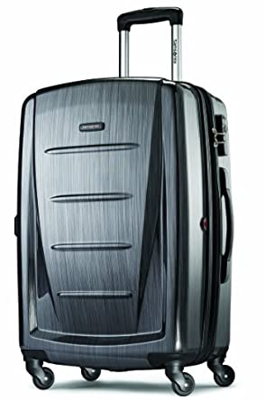 Samsonite Luggage Winfield 2 Fashion 24-Inch HS Spinner (24-Inch, Charcoal)