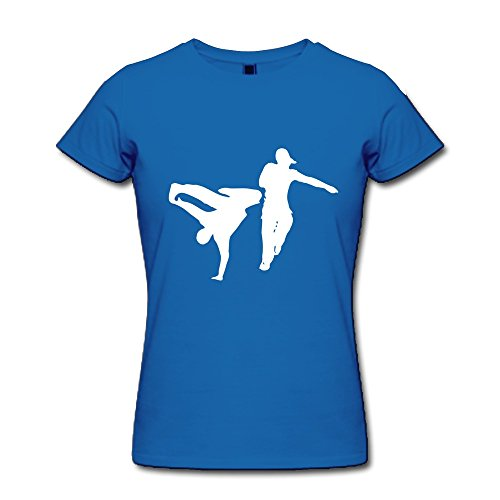 Girl'S Hip Hop Custome Xx-Large Royalblue O-Neck By Dingding