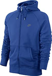 NIKE Herren Kapuzenpullover HBR FT Full Zip Hoody, Game royal, L, 539940