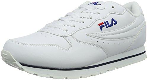 FilaOrbit Low - Scarpe da Ginnastica Basse Uomo , Bianco (Weiß (Bright White)), 44|#Men