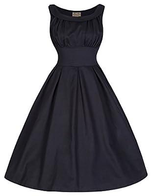 Lindy Bop 'Selema' Elegantly Vintage Fifties Style Evening Dress