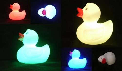 Light Up Rubber Ducks