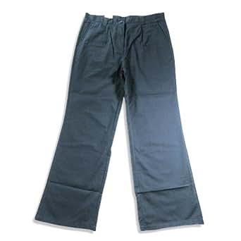 Izod - Big Girls' Plus Size Pleated Pant, Navy 20174-12.5Plus