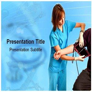 Amazon Nurse PowerPoint Template Backgrounds PowerPoint Templates on Nurse Software
