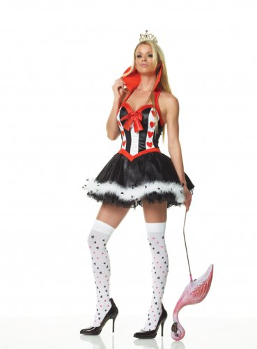 Sexy Alice In Wonderland Evil Queen of Hearts Costume