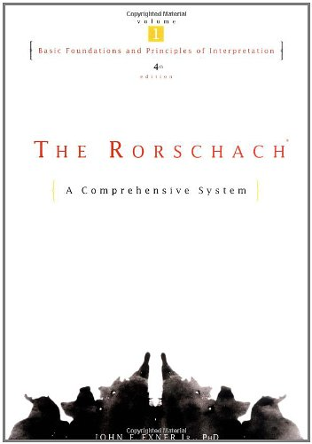 The Rorschach, Basic Foundations and Principles of...