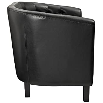 Modway Prospect 2-Seater Loveseat, Black