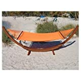 CARIBBEAN JUMBO HAMMOCK (Orange)-by-Hammock Trader