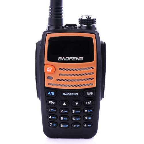 Expanded Frequency Range Dual Band Vhf/Uhf 136-174&400-520Mhz Dtmf Ctcss Dcs Fm 5Watt Ham Radio By Bluelover