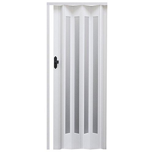 Porta a soffietto in legno sylt dimensioni 86 x 203 cm for Porte a soffietto amazon