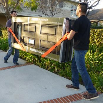 how to use orange moving straps