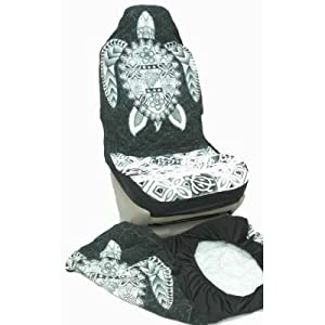 hawaiian car seat covers gray big turtle set. Black Bedroom Furniture Sets. Home Design Ideas