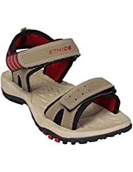 Maddy's Beige Casual Sandals For Men With Fashionably Top Quality Material Of Synthetic Leather In Various Sizes