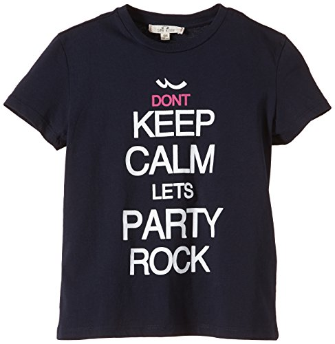 LTB Jeans Jungen T-Shirt Keep Calm S/T, Gr. 176, Blau (Navy 301)