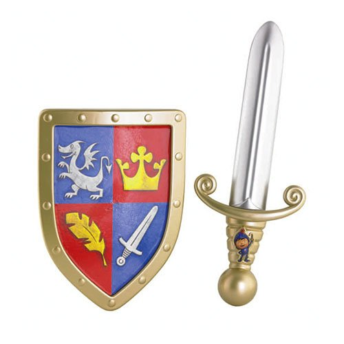 Mattel Fisher-Price Y8133 - Mike der Ritter Schwert und Schild