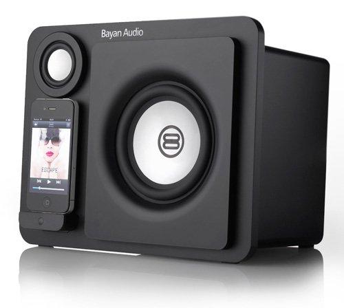 Bayan Audio 3 Speaker Dock - Black Black Friday & Cyber Monday 2014