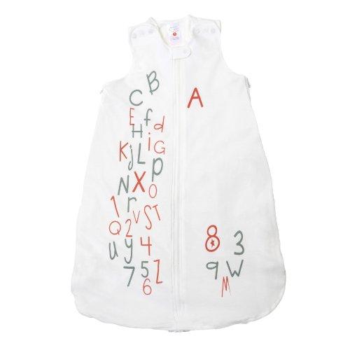 Gunamuna Gunapod Wearable Blanket, Alphabet Soup, Small