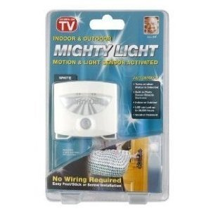 Amazon.com: Mighty Light Indoor/Outdoor Motion and Light Sensor ...