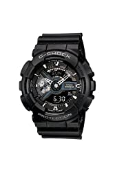 G-Shock GA110-1B Military Series Watch Black by G-Shock Watches By Casio