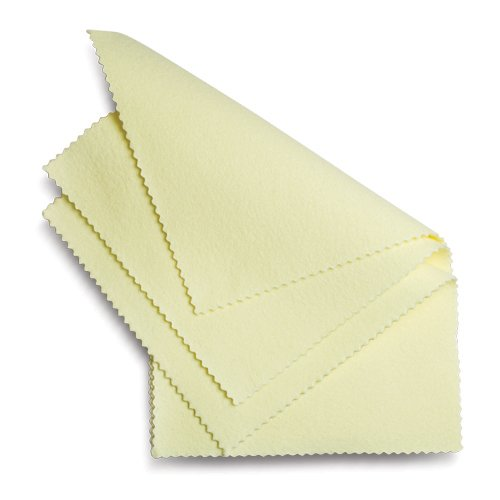 Polishing and Cleaning Cloths for Jewelry and More - Package of 3 Sunshine® Cloths