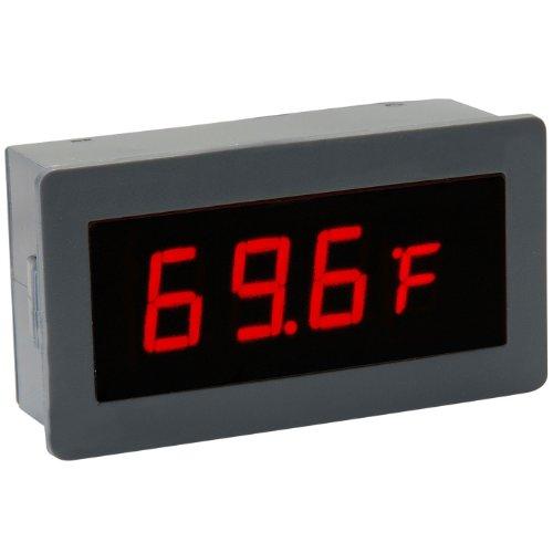 Red Led Temperature Display External Sensor