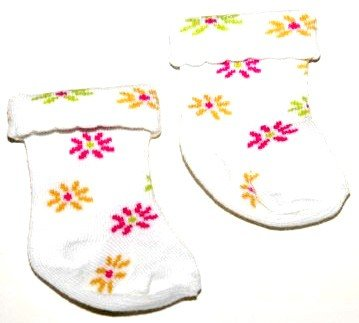 Buy American Girl Doll Clothes White Flower Socks
