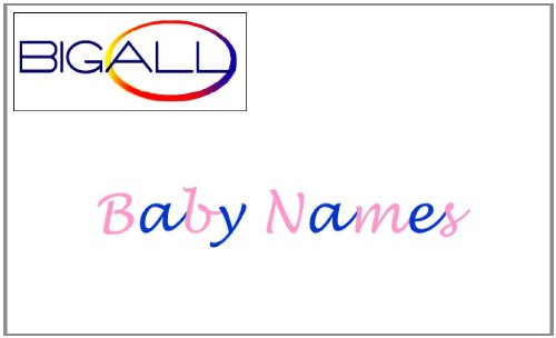 "Baby Names Ebook over 7000 names, meanings and origins plus bonus ""Helping prepare your child for school"" which includes a vast range of activities from Birth to age 5"