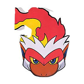 Pokemon 'Diamond and Pearl' Paper Masks (6ct)