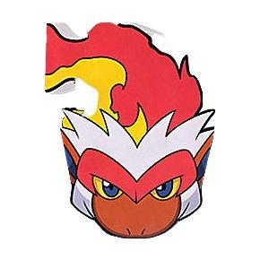 Pokemon 'Diamond and Pearl' Paper Masks (6ct)