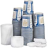 Ny Coffee Cup (100 Paper Cups with 100 Lids)