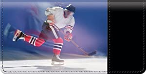 Hockey Checkbook Cover