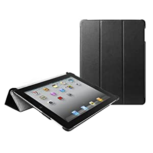 MiniSuit Leather Case Microfiber Cover for The New iPad