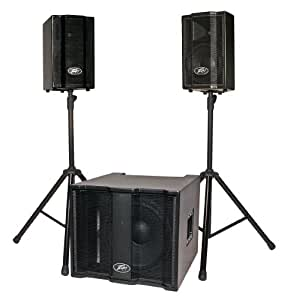 peavey triflex tm ii 1000 watt portable pa system musical instruments. Black Bedroom Furniture Sets. Home Design Ideas