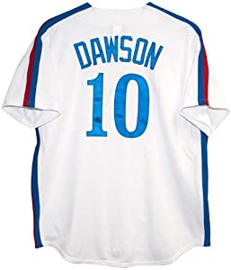 Andre Dawson Montreal Expos Cooperstown Jersey