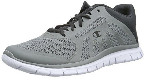 Champion - Low Cut Shoe ALPHA, Sneakers uomo, color Grigio (Grey Melange 1), talla 45