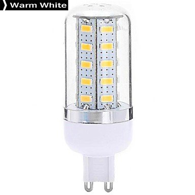 G8 7W 36X5730Smd 630Lm 2800-3200K Warm White Light Led Corn Bulb (220-240V)