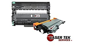 Laser Tek Services® High Yield Toner Cartridge Compatible with Brother TN-450 & Compatible Drum Unit for Brother HL-2130 MFC-7460 DCP-7065DN - 2 Pack Total