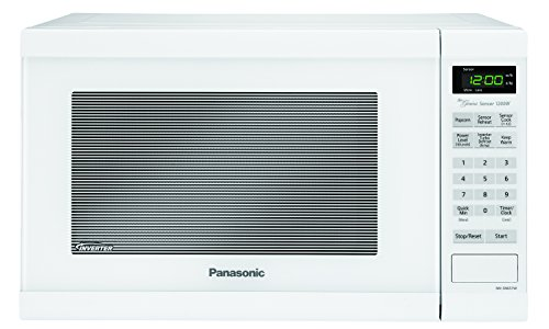 Panasonic NN-SN651WAZ White 1200W 1.2 Cu. Ft Countertop Microwave Oven with Inverter Technology (Small White Microwave Oven compare prices)