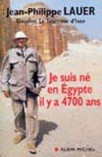 Je suis né en Égypte il y a 4700 ans