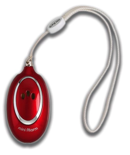 Belle Hop Personal Safety Alarm, Red