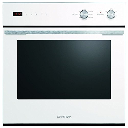 Fisher and Paykel OB60SC7CEW1 Classic 72 L 7 Function Electric Single Oven With Electronic Clock White