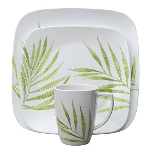 corelle-stoviglie-per-4-persone-piazza-livingware-16-camere-decorazione-a-foglia-verde-bambu-vitrell