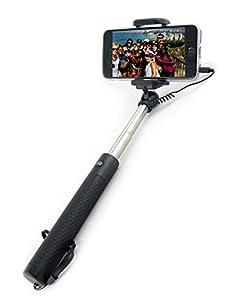 selfie stick globe stick premium quality wired mini stick with. Black Bedroom Furniture Sets. Home Design Ideas