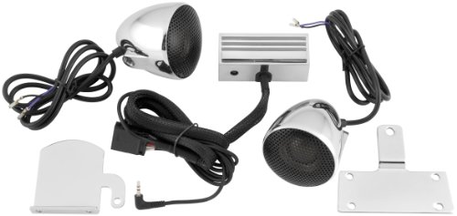 CYCLE SOUNDS CRUISER SOUND SYSTEM 2-1/2 INCH CHROME METRIC CRUISERS (Cycle Sounds compare prices)