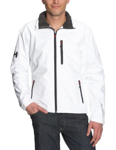 Helly Hansen Crew Midlayer Jacket, 001 Bright White, Medium