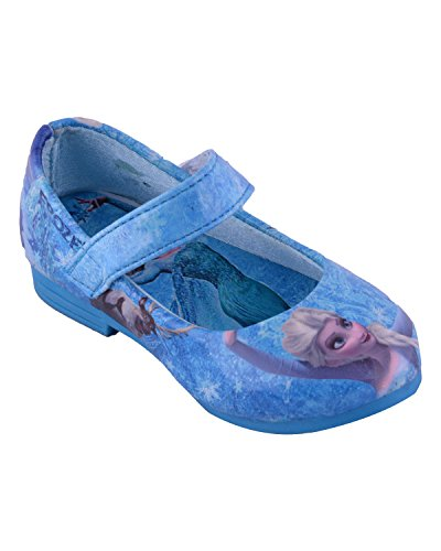 Felcy Fashions Girls' 1 Year Frozen Blue Cotton Shoe