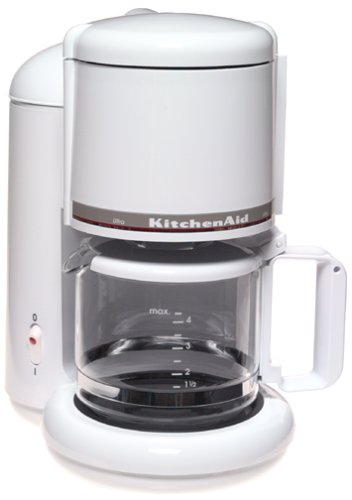 KitchenAid KCM055 4-Cup Ultra Coffeemaker, White Patio furniture sale
