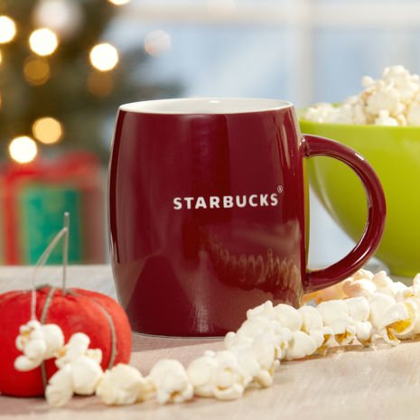 Starbucks Red Valentine's Day Mug, 14 fl oz (Starbucks Classic Mug compare prices)