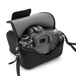 2767b460b9 USA Gear FlexARMOR Neoprene DSLR Camera Case Sleeve for Nikon Cameras